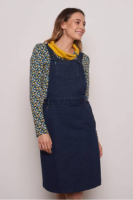 Jeans Dress     dark indigo