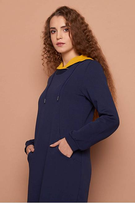 Sweat Dress     navy