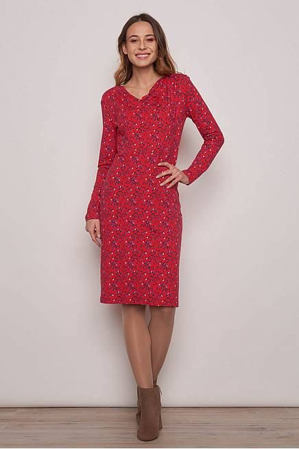 Jersey Dress     red kite
