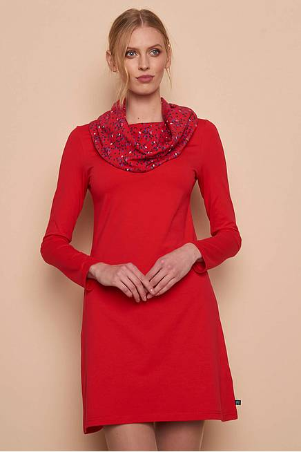 Jersey Dress     red