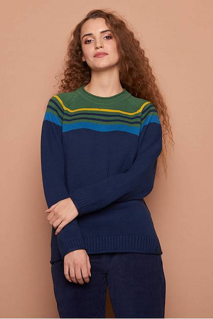 Knitted Sweater     navy