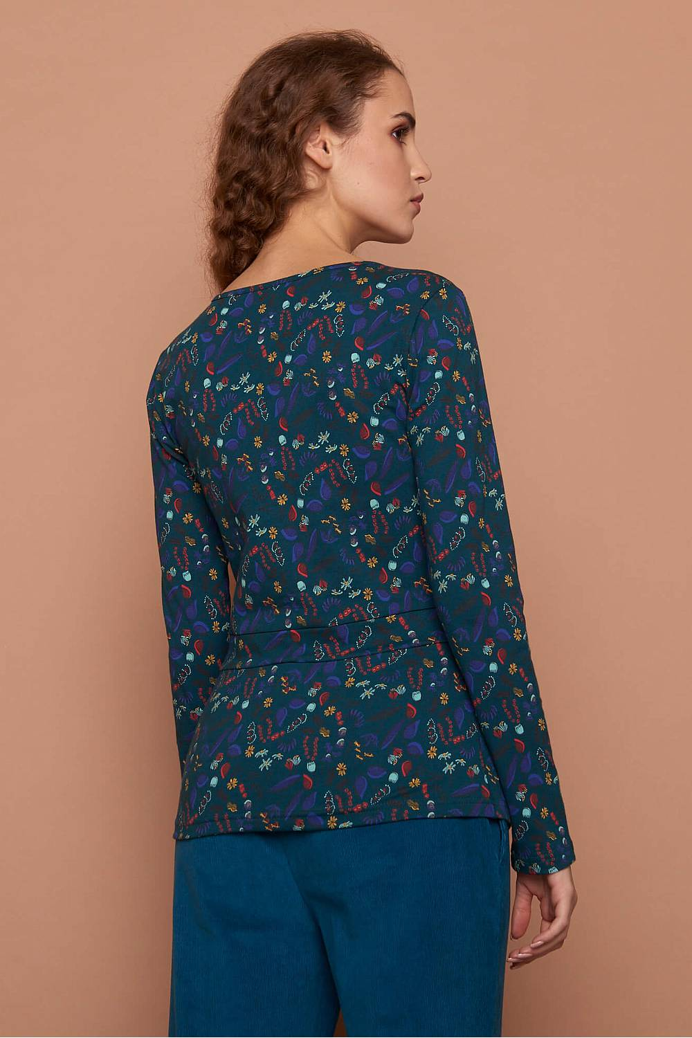 Jersey Shirt GITTE  flower