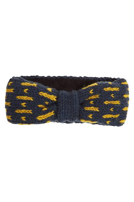 Strick Stirnband ZERA navy