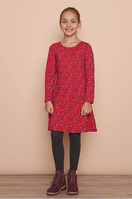Jerseykleid     red kite