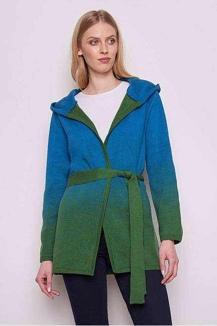 Strickjacke ERLA  green