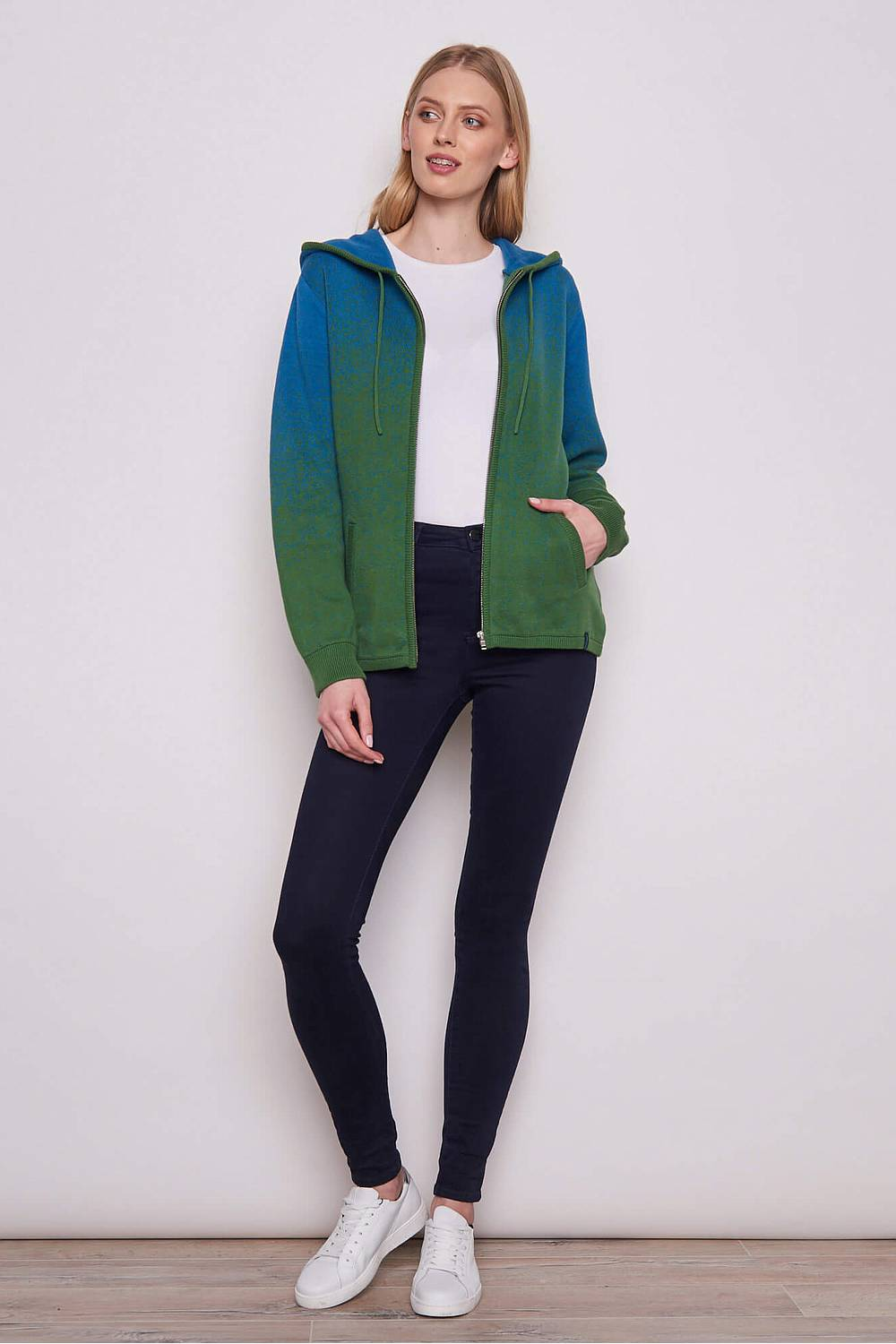 Strickjacke     green