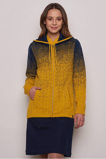 Strickjacke     curry