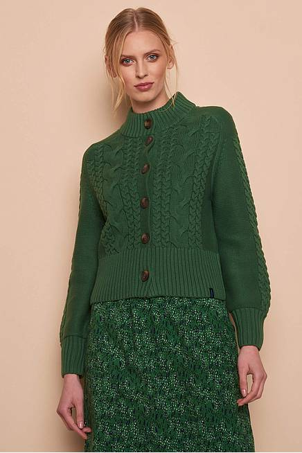 Strickjacke KOLFINNA green