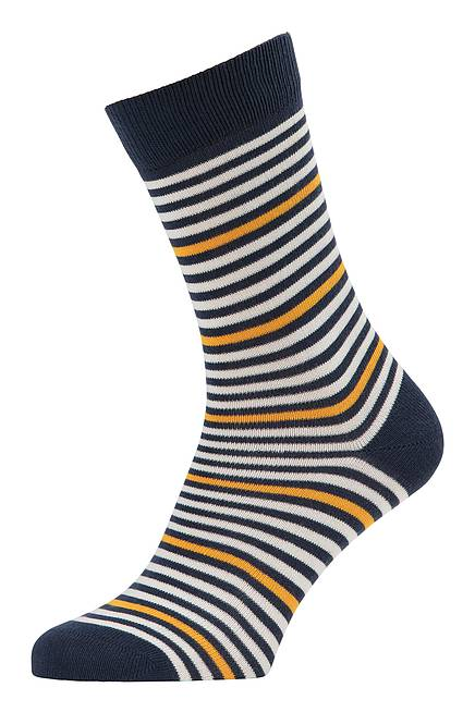 Stricksocken navy