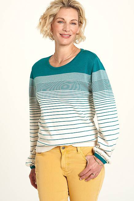 Knitted Top  atlantic stripes