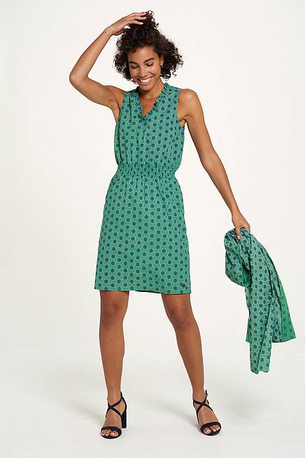 Cambric Dress  sundial green