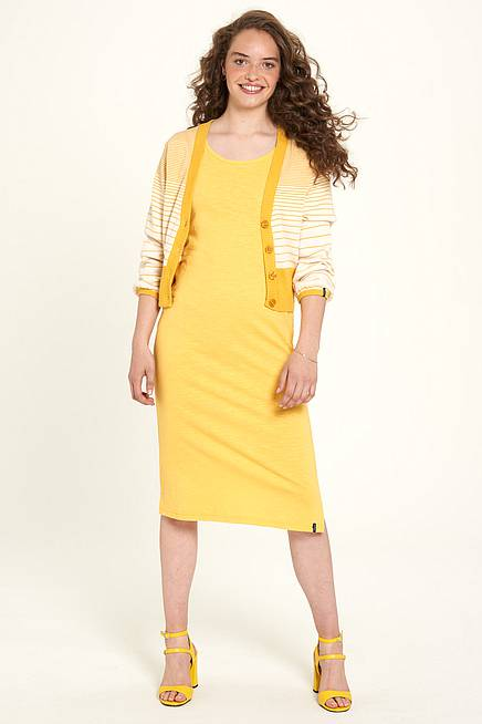 Jersey-Kleid  honey
