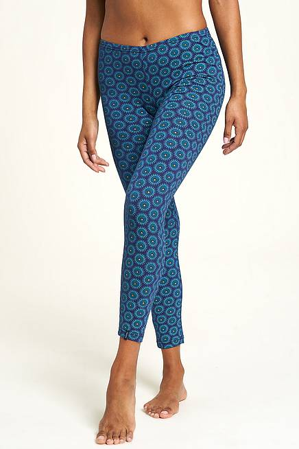 Jersey-Leggings sundial navy