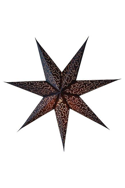 Recycling Paper Star 60 cm black