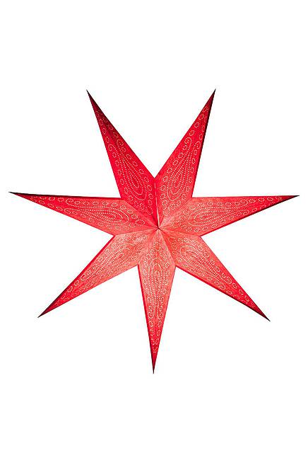 Recycling Paper Star 75 cm red