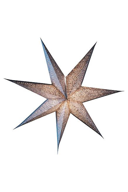 Recycling Paper Star 75 cm silver